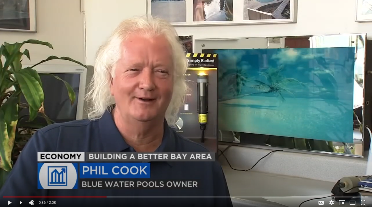 ABC7 News Blue Water Pools